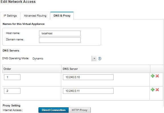 Configuring network access - Lenovo XClarity Administrator
