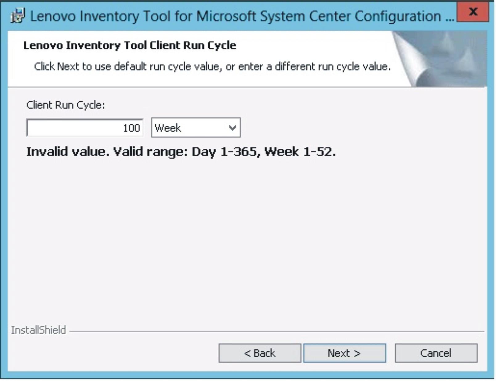 Installing - Lenovo Inventory Tool