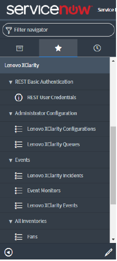Updating credentials of a REST user - Lenovo XClarity Integrator for